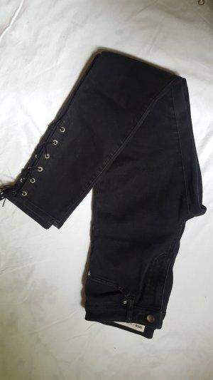 neue lace-up Jeans zum Schnüren