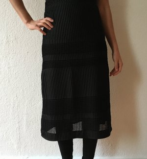 neue langen Rock shwarz . new long skirt black mango size 36