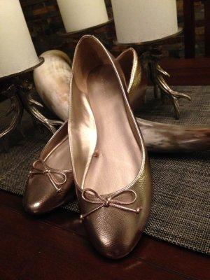 Neue Leder Ballerinas