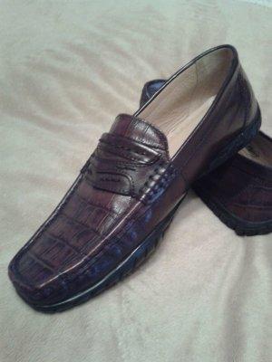 Neue ! Leder Schuhe (Mokassins)von Pulse Gr.: 38