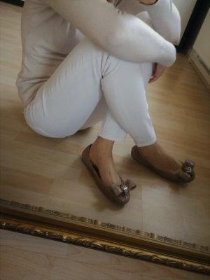 Neue Lederballerinas von Armani