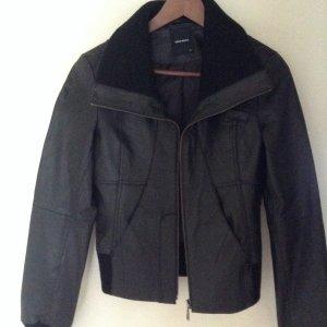 Neue Lederjacke Schwarz Vero Moda XS