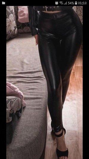 Primark Pantalone in pelle nero