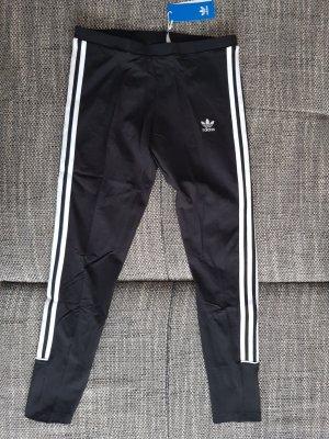 Adidas Leggings white-black