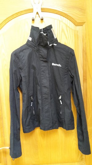 NEUE leichte dunkelgraue BENCH Jacke 'Barbeque' mit herausnehmbarer Kapuze