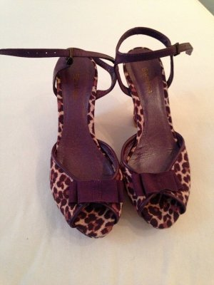 neue Leoparden Wedges