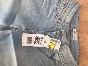 Levi's Jeans a zampa d'elefante azzurro Cotone