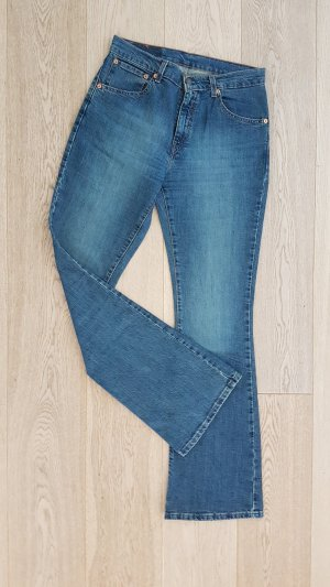 Neue Levi's Red Label Jeans Hose Jeanshose W30 L34 Schlaghose denim blau