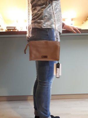 Liebeskind Berlin Mini sac beige-marron clair cuir