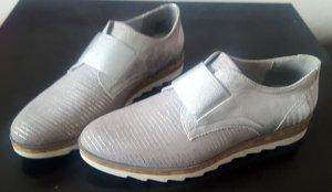 neue Loafers von Gina Benotti, silber