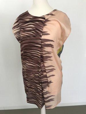 Zara Camicetta lunga multicolore