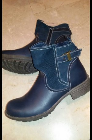 Neue Lotus Boots blau