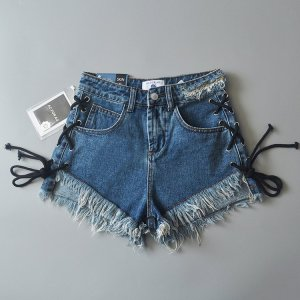 AG Jeans Denim Shorts blue