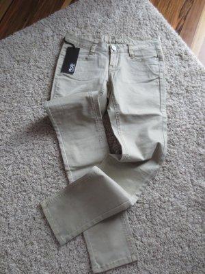 NEUE M.O.D. Jeans in beige, Gr. 27, Länge 32