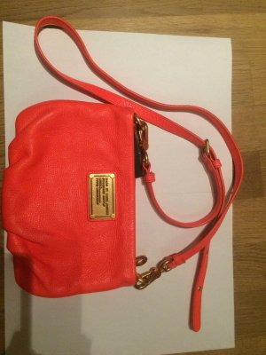 Marc by Marc Jacobs Crossbody bag salmon leather