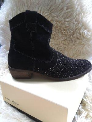 Neue Marco Tozzi Stiefel schwarz