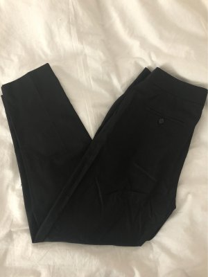 Massimo Dutti Pleated Trousers black