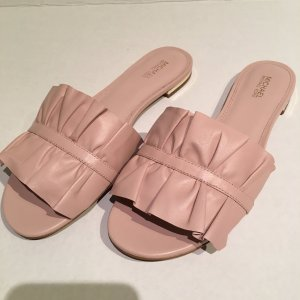Michael Kors Dianette Sandals pink leather