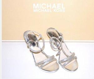 Neue Michael Kors Sandalen Gr. 7 1/2, Gr. 38 1/2..... Yvonne Wedding Shoes....l
