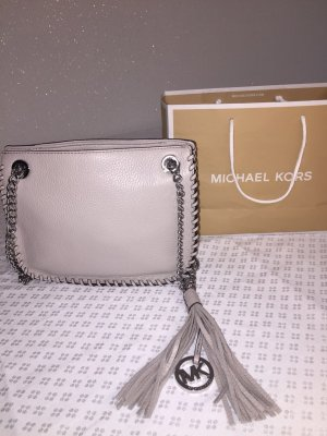 NEUE Michael Kors small Messenger Leather Bag grey