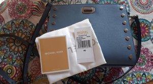 Neue Michael Kors Sylvie Stud MD Messenger Tasche