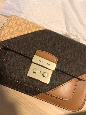 Michael Kors Borsetta color cammello-marrone Pelle