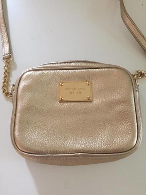 Michael Kors Mini Bag gold-colored-sand brown leather