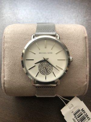 Michael Kors Horloge met metalen riempje zilver