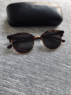 Mister Spex Ronde zonnebril bruin