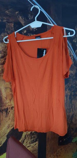 Chillytime Boothalsshirt roodbruin