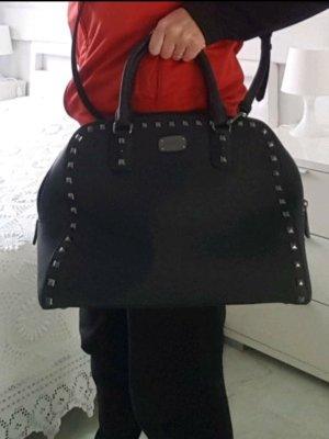 neue MK Michael Kors Handtasche Tasche Schwarz