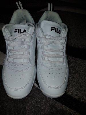 Fila Sneakers met veters wit-zwart