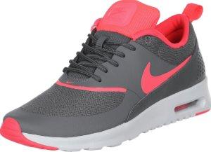 Nike Sneakers grijs-magenta