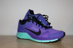 Nike Sneaker stringata azzurro-lilla