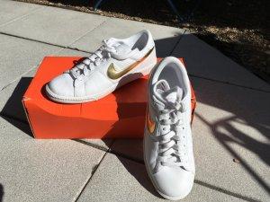Nike Basket blanc-doré