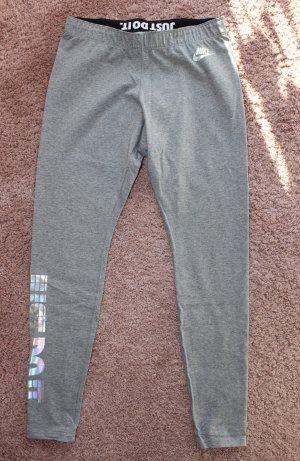 Nike Leggings gris-color plata