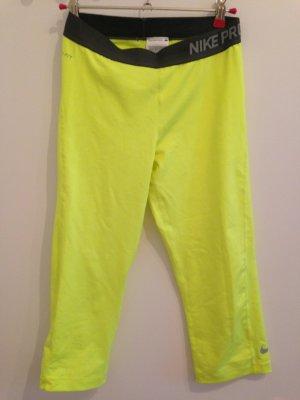 neue Nike Sporthose neongelb