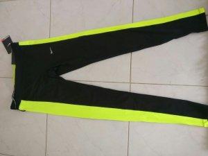 Nike Legging zwart-geel Polyester