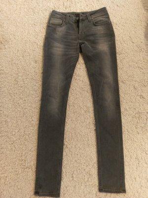 Neue Nudie Jeans, grau, in 28/34