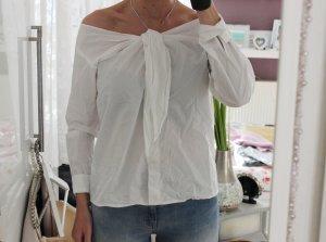 Neue Off-Shoulder Bluse in weiß