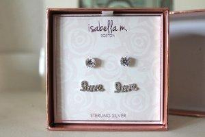 Neue Ohrringe Sterling Silber