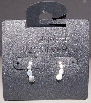 Neue Ohrstecker aus 925er Silber