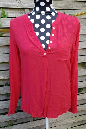 Neue Only Bluse, rot, Gr. 34