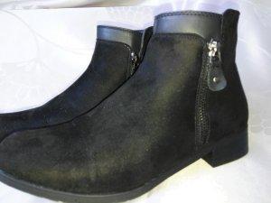Neue Orginal City Line Stiefelette/ Boots in schwarz , Wildlederoptik in Größe 39!