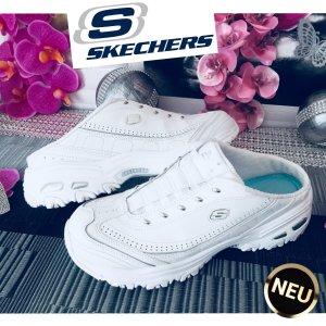 Skechers Zuecos blanco