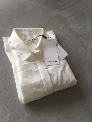 Lacoste Blouse à manches longues blanc