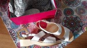 Neue original Swedish  Hasbeens Sandalen / Clogs Model Helena