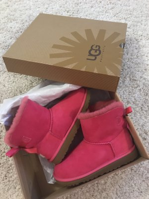 NEUE ORIGINAL UGG BOOTS MINI BAILEY BOW PINK