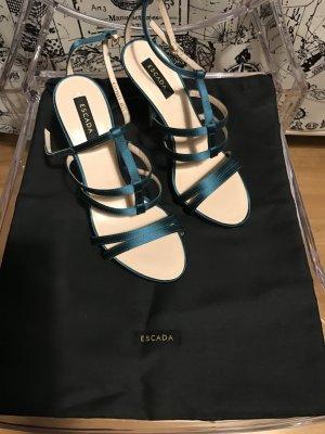 Neue Originale Escada Schuhe 37 High Heels