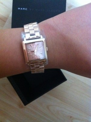 Marc Jacobs Watch With Metal Strap pink-light pink